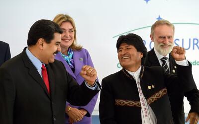 Para Venezuela, Maduro debe poder presidir Mercosur sin ningún ti...