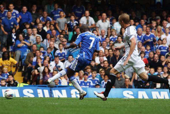El talentoso del Chelsea fue figura en el triunfo sobre el  Swansea.