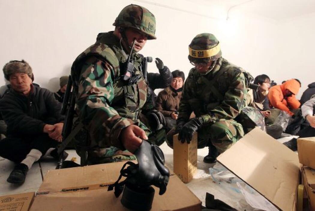 El gobierno norcoreano había advertido que contraatacaría si los ejercic...