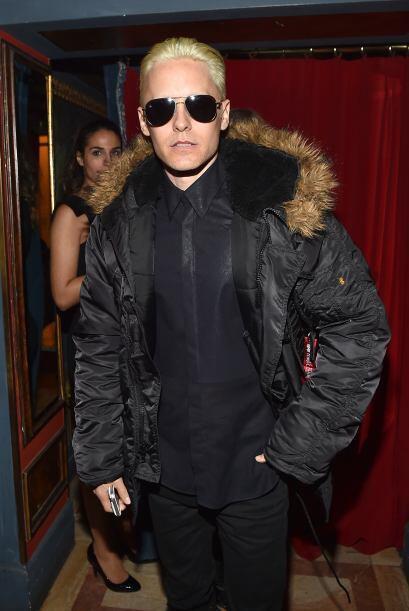Jared Leto presumió su nuevo look.