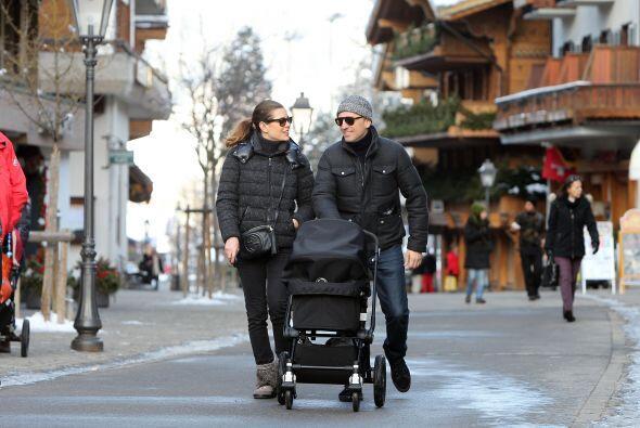 La princesa y su pareja, el actor francés Gad Elmaleh, sacaron a...