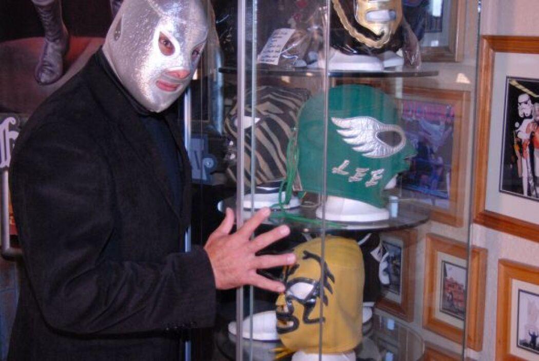 'El Santo' es y fue el más famoso de los luchadores en América Latina.