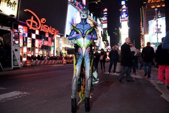 Se trata del disfraz de la modelo Heidi Klum, que nuevamente demostr&oac...