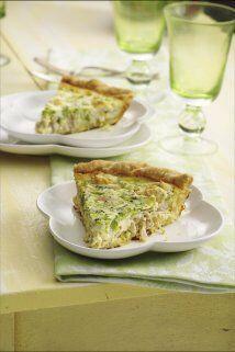Quiche de Pollo y Brócoli: Dale un toque fresco y natural a este pastel...