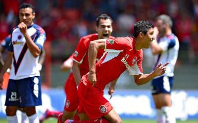Toluca venció a Veracruz 2-1