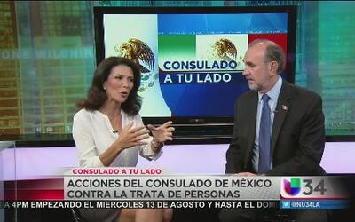 Consulado de México toma acciones ante la trata de personas
