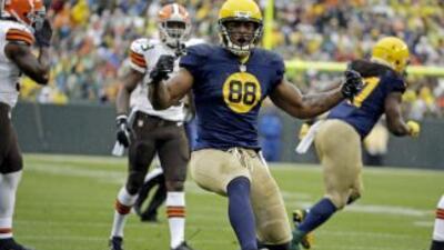 Jermichael Finley espera su alta médica (AP-NFL).