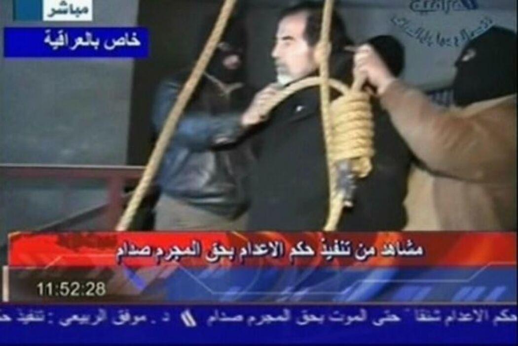 El 30 de diciembre de 2006, Hussein fue ahorcado en un lugar secreto en...