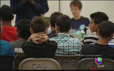Niños inmigrantes son un desafío para los jueces en los Estados Unidos