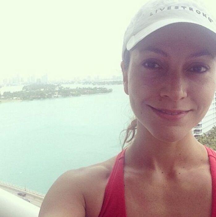 """""""Lo mejor de las 10 millas que corrí hoy: la brisa, la llovizna y el des..."""