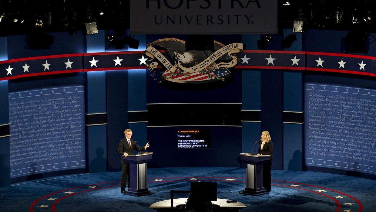 Faltan pocas horas para el debate Clinton-Trump