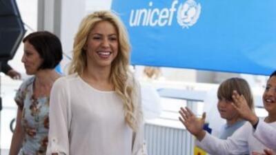 Shakira ha destacado por su apoyo a las labores filantrópicas a lo largo...