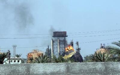 Explosiones en una planta de gas en Irak dejan al menos 14 muertos