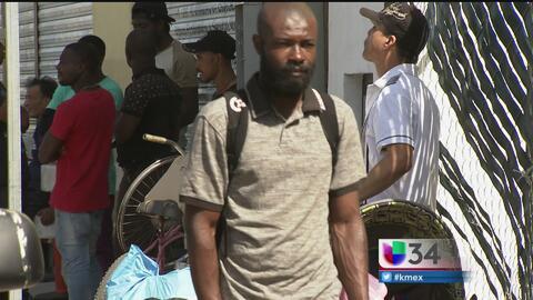 La difícil situación de los haitianos en la frontera EEUU-México