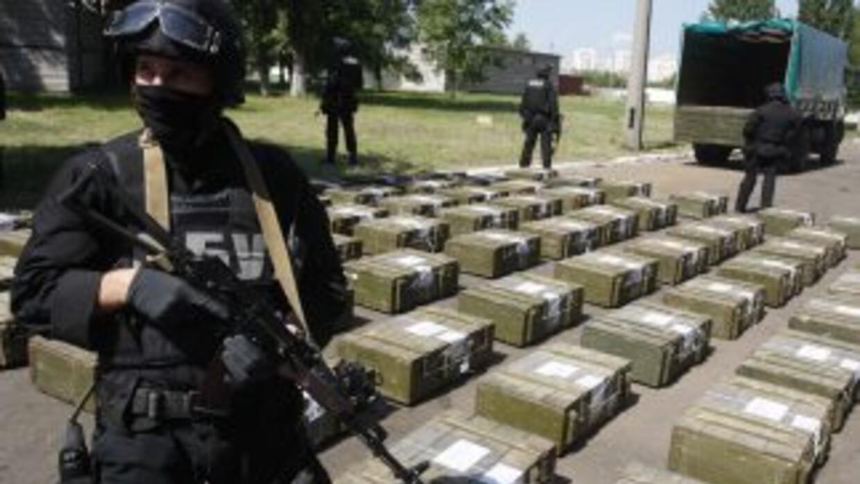Autoridades señalan que el 90 por ciento de la cocaína ingresa a EU por...