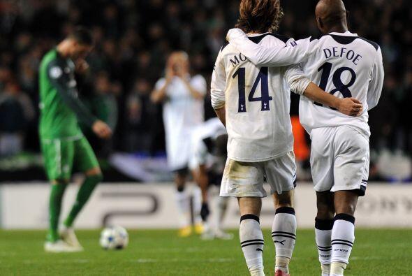 Más tarde, el croata Luca Modric marcó el 2-0.