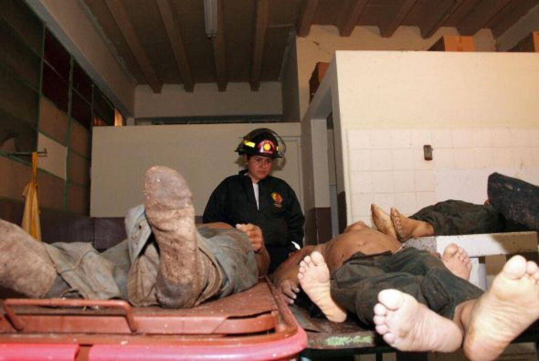 Algunos de los cadáveres no han sido reconocidos.