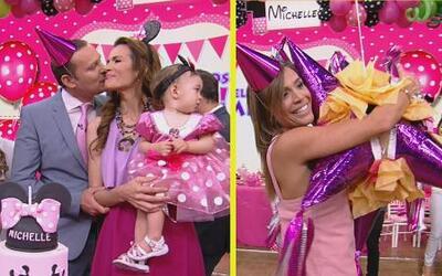 #DAEnUnMinuto: Karla quería convertirse en piñata y baby Michelle disfru...
