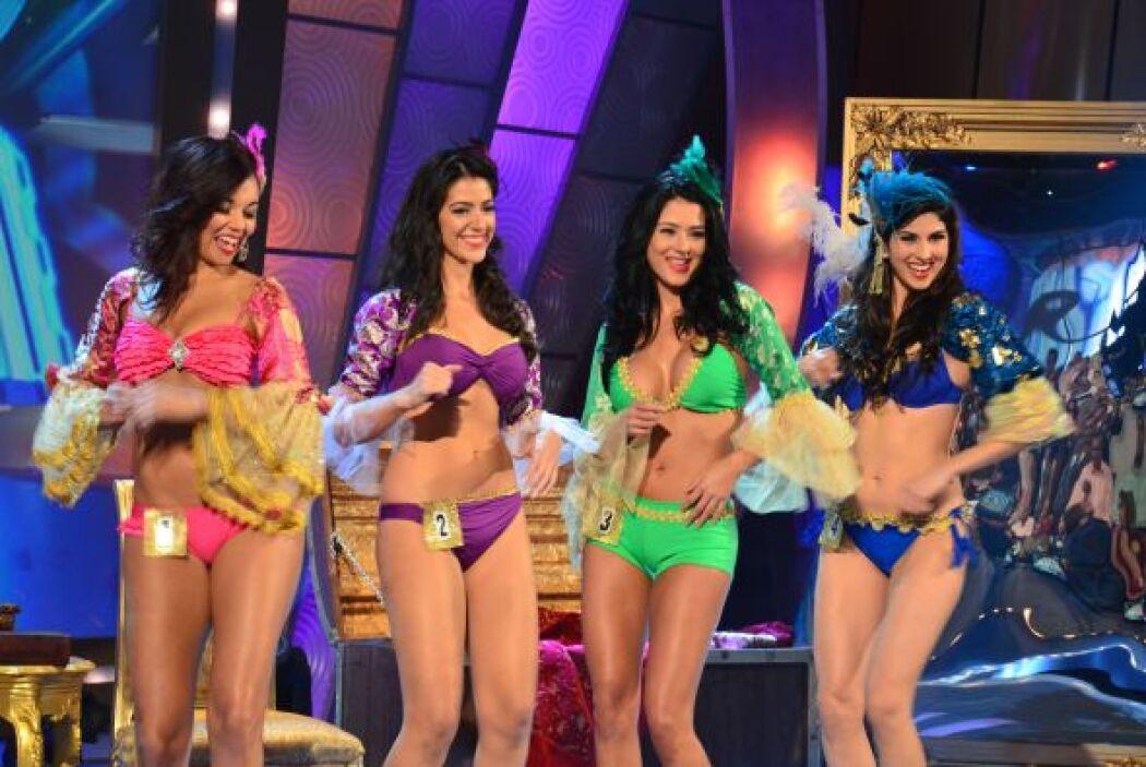 Katherine, Vanessa, Carolina y Joely bailaban juntas festejando que aún...