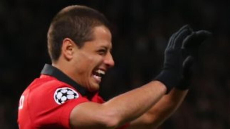 Los jugadores del Manchester United celebran el gol del triunfo ante Rea...