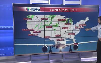 Pronóstico viajero martes 16 de mayo