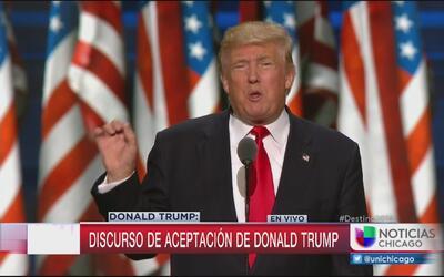 Las claves del discurso de Donald Trump  en la Convención Republicana