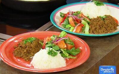 ¡Coman 4 por sólo $12! Receta de Carne Molida Guisada