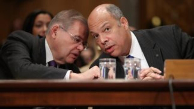 El Secretario del Departamento de Seguridad Nacional , Jeh Johnson, conv...