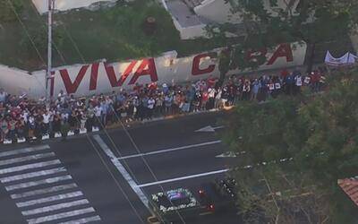 Inicia la caravana de la libertad que trasladará las cenizas de Fidel Ca...