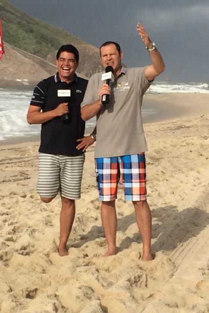 El jueves se armó la fiesta desde las playas brasileñas, pero no se bail...