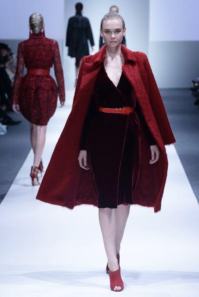 Marsala acaparará todo, lo veremos brillar en mundo de la moda pr...