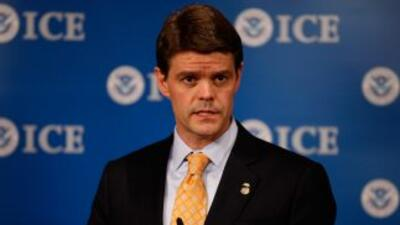 El director de la Oficina de Aduanas y Control Control Fronterizo (ICE),...
