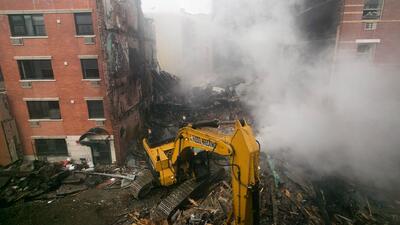Aumenta a 8 la cifra de muertos tras el derrumbe en Harlem