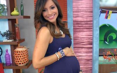 Satcha Pretto está lista para la llegada de su bebé