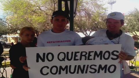 Cubanos permanecen varados en México tras la eliminación de la política...