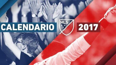 Calendario 2017 de la MLS