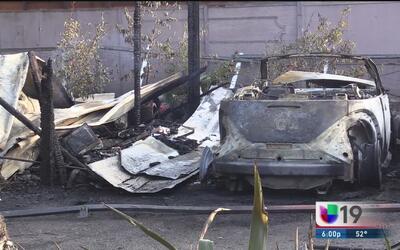 Cuatro personas murieron en un incendio de una casa móvil en Modesto
