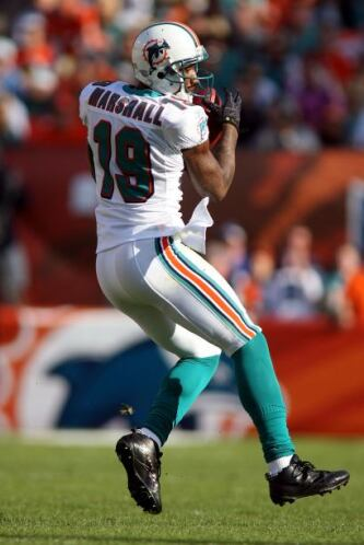 61. Brandon Marshall (receptor abierto - Miami Dolphins)