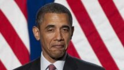 En tres meses el presidente Barack Obama ha recolectdo para su campaña d...