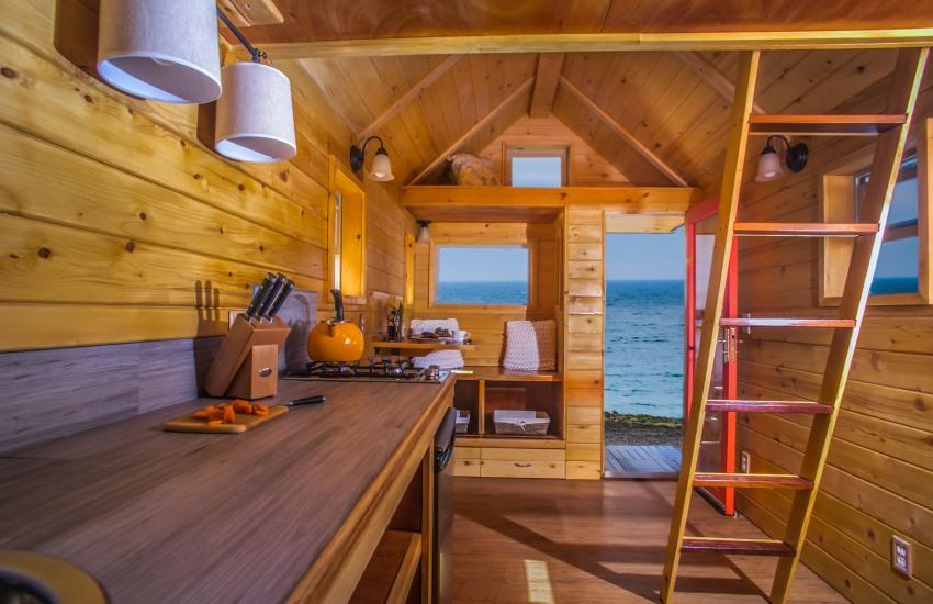 La mini casa que puedes llevar a donde quieras