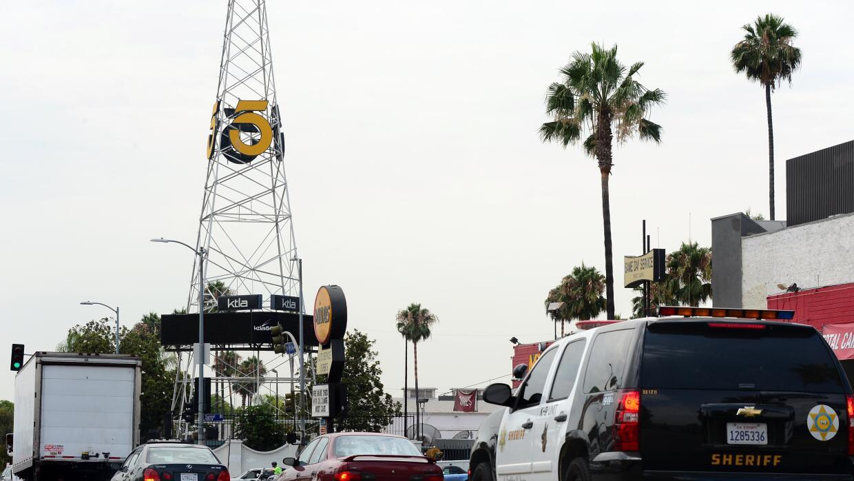 Torre de KTLA en Hollywood.