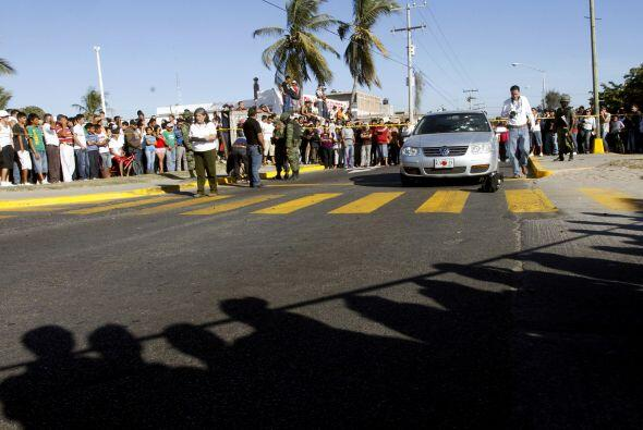 Por la matanza de 72 extranjeros de paso el año pasado en Tamaulipas se...