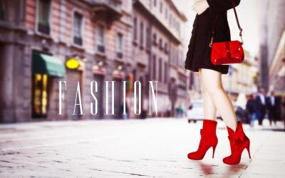 Mujer vestida a la moda