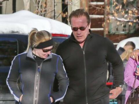 No cabe duda de que Arnold Schwarzenegger es un hombre de acción...
