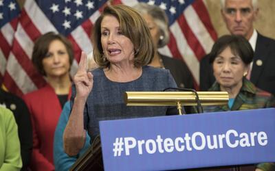 Líderes demócratas dicen que pelearán contra la intención de Donald Trum...