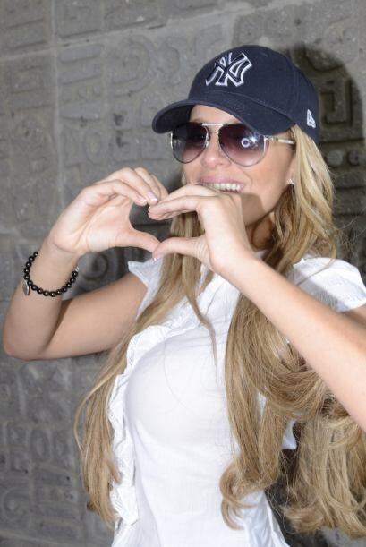 Así es, se trata de la bella Malillany Marín, la cubana m&...