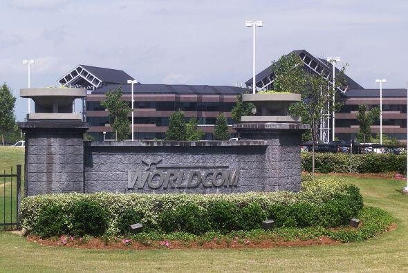 """3. WorldCom (telecomunicaciones) - 21 julio 2002 """" $103,900 millones."""