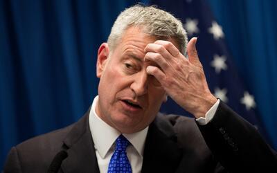 Bill de Blasio habla sobre los acuerdos de la ciudad con ICE