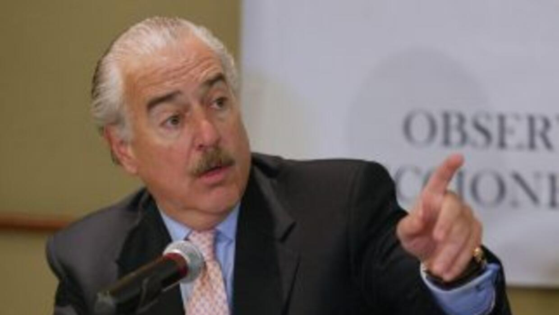 El ex presidente de Colombia, Andrés Pastrana.