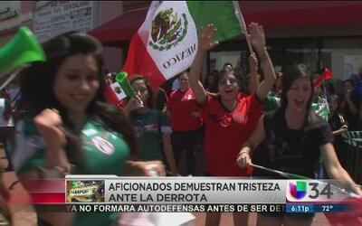 Selección mexicana va regreso a casa luego de su derrota en los octavos...